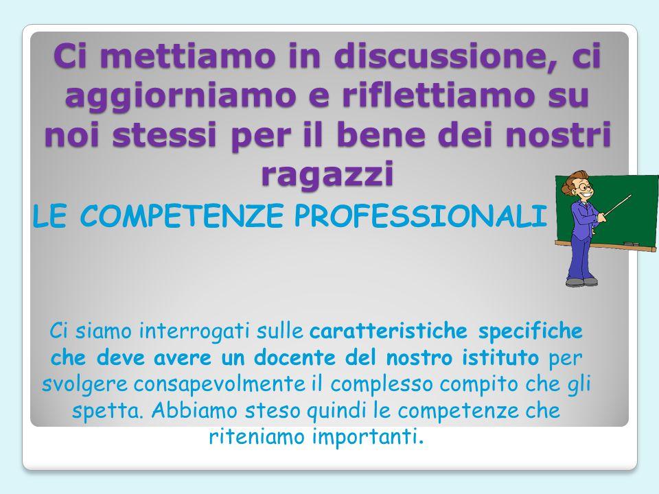 LA COMPRESENZA di due insegnanti in alcuni momenti della vita scolastica La presenza contemporanea di due insegnanti dava maggiori opportunità di crea