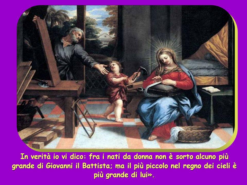 """Egli è colui del quale sta scritto: """"Ecco, dinanzi a te io mando il mio messaggero, davanti a te egli preparerà la tua via""""."""