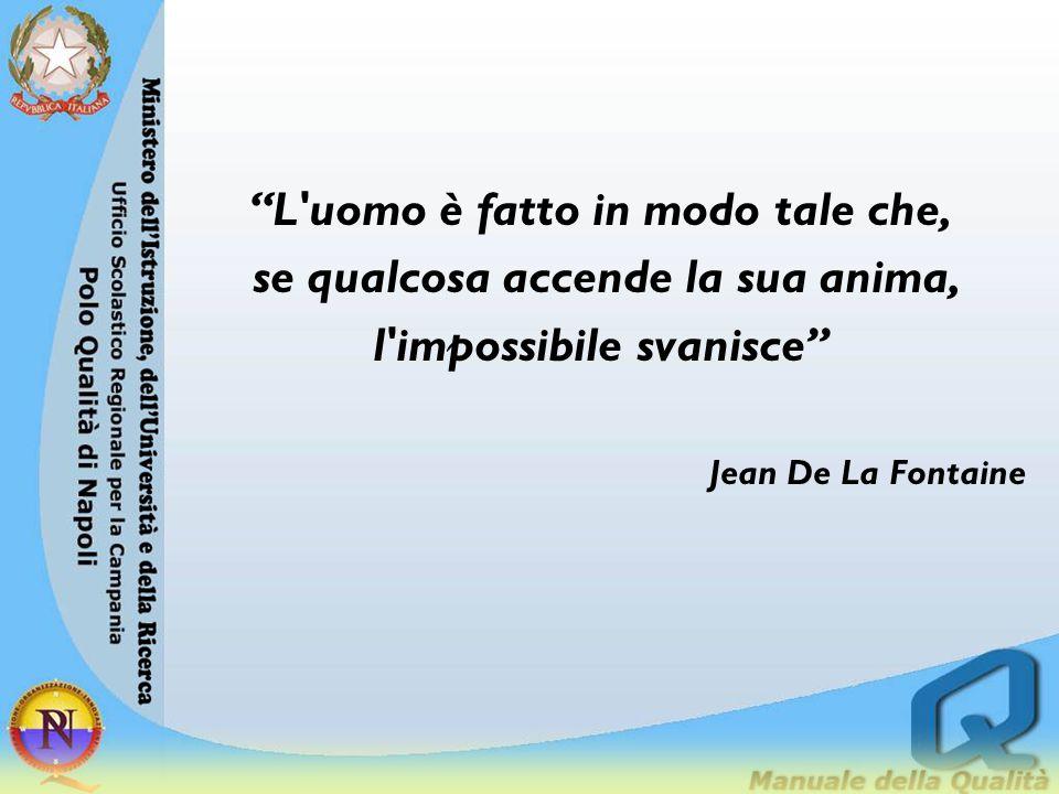 """""""L'uomo è fatto in modo tale che, se qualcosa accende la sua anima, l'impossibile svanisce"""" Jean De La Fontaine"""