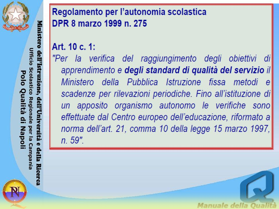 B) Processi – Pratiche gestionali e organizzative 3.5 Orientamento strategico e organizzazione della scuola Definizione dell area - Identificazione e condivisione della missione, dei valori e della visione di sviluppo dell'istituto.