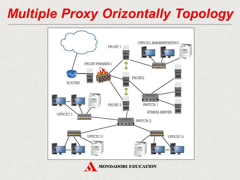 Multiple Proxy Orizontally Topology