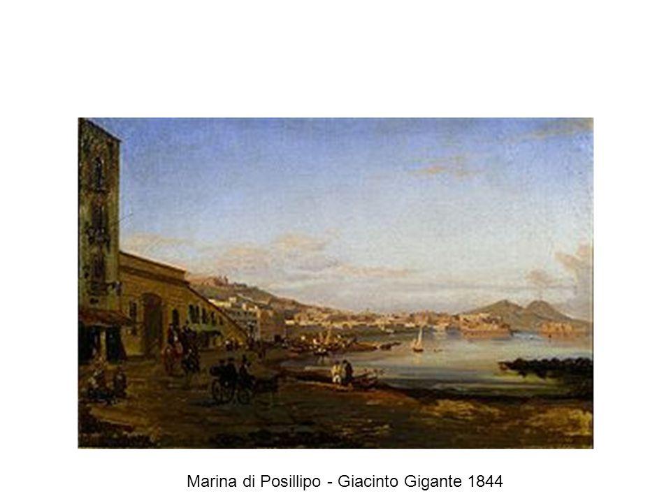 Marina di Posillipo - Giacinto Gigante 1844