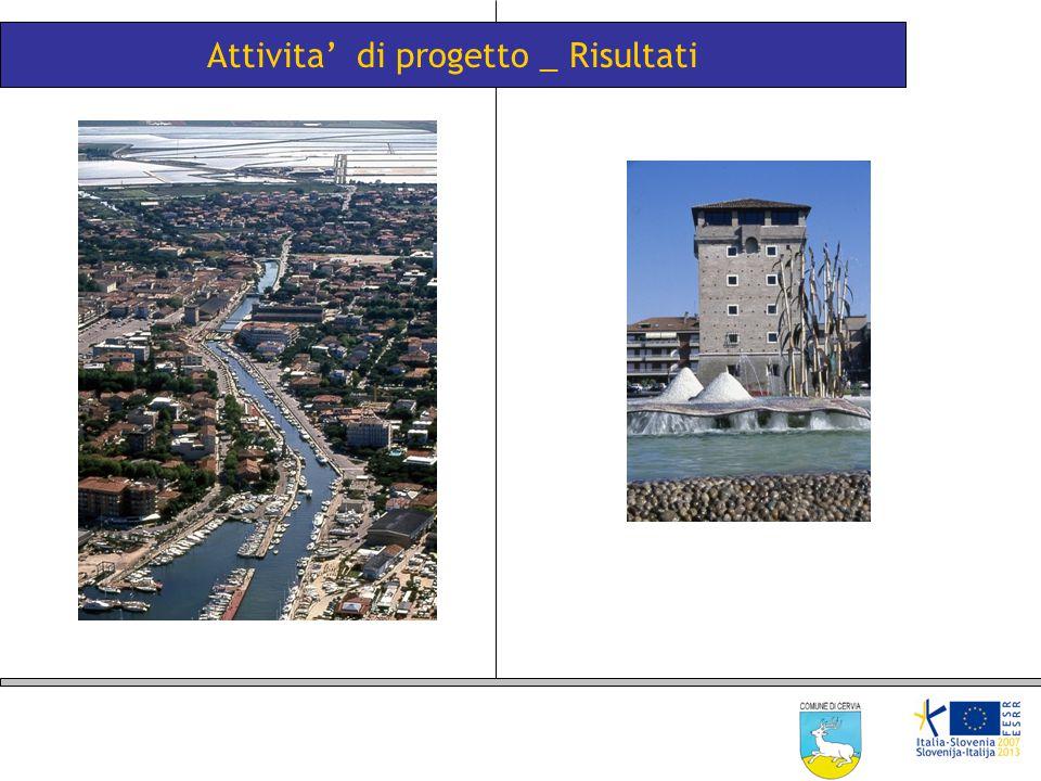 Attivita' di progetto _ Risultati