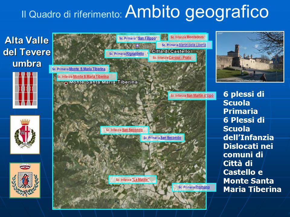 Alta Valle del Tevere umbra Sc. Infanzia Montedoro Sc.