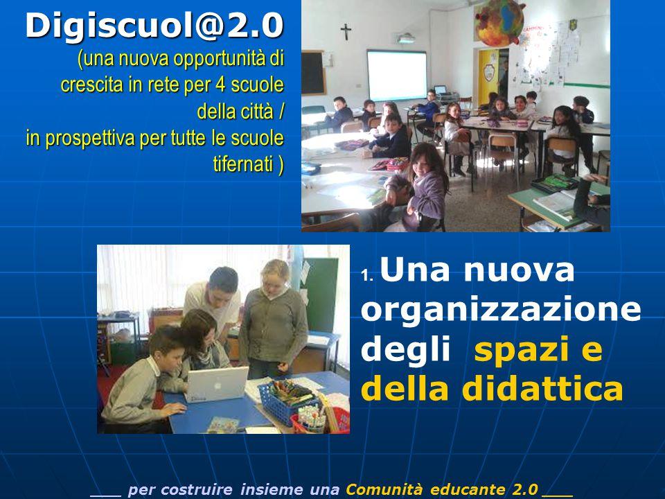 ___ per costruire insieme una Comunità educante 2.0 ___Digiscuol@2.0 (una nuova opportunità di crescita in rete per 4 scuole della città / in prospettiva per tutte le scuole tifernati ) 1.