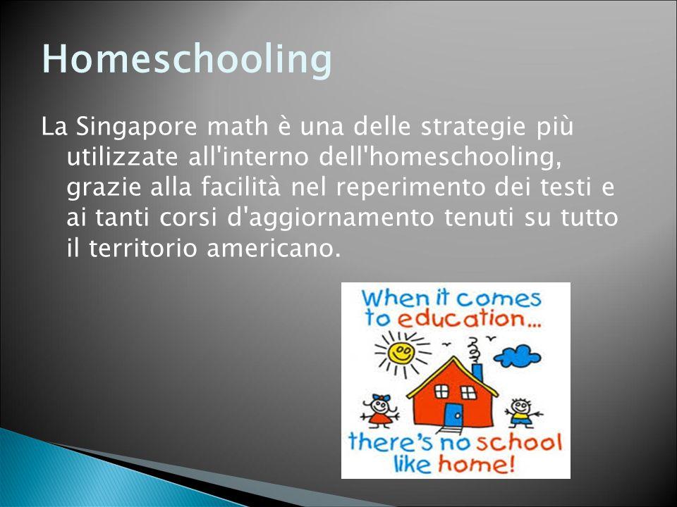 Homeschooling La Singapore math è una delle strategie più utilizzate all'interno dell'homeschooling, grazie alla facilità nel reperimento dei testi e