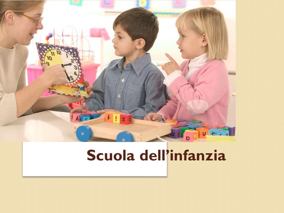 La scuola dell'infanzia… …infatti esclude impostazioni scolasticistiche che tendono a precocizzare gli apprendimenti formali .