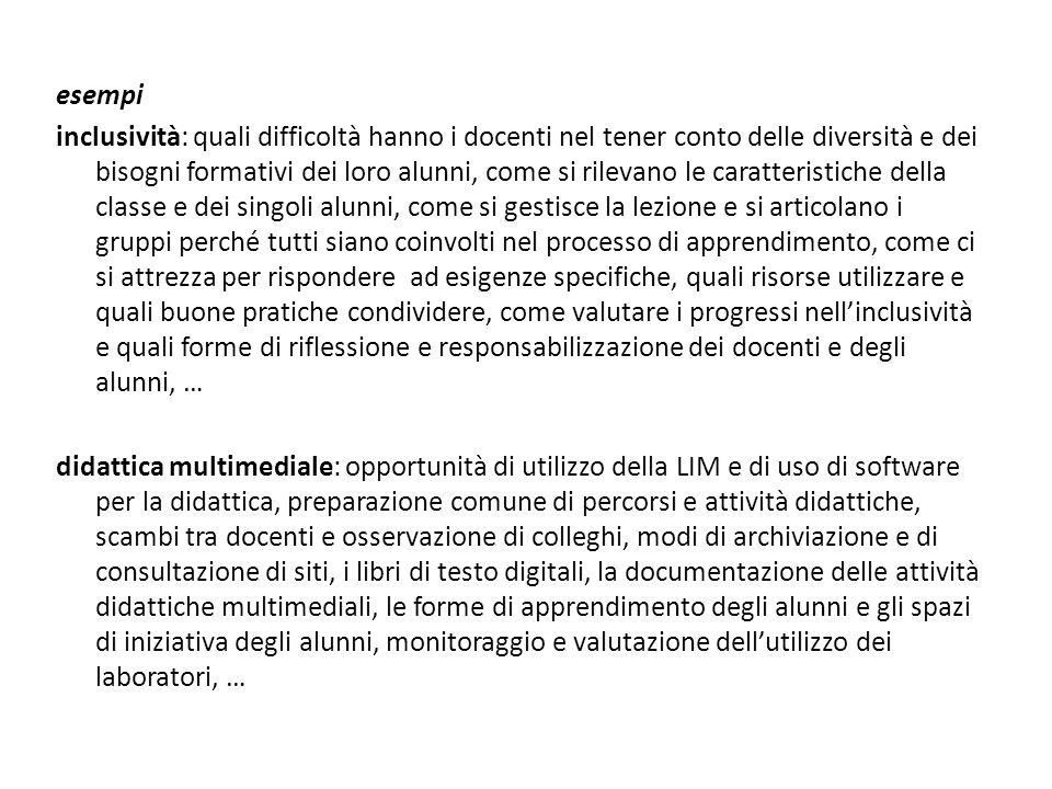 La delineazione degli obiettivi strategici all'ITC V.ttorio E.