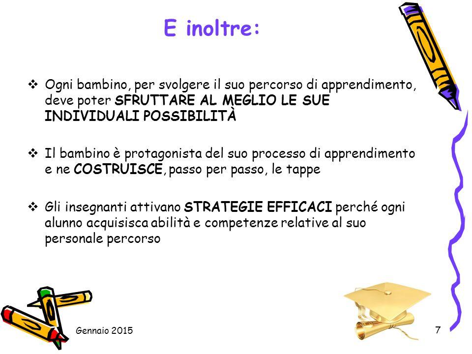 18 Cura l'insegnamento dell'Italiano L2 agli alunni non italofoni, attraverso: Percorsi individuali o in piccolo gruppo di alfabetizzazione Percorsi semplificati e/o facilitati Utilizzo della didattica per classi plurilingue/pluriculturale Gennaio 2015