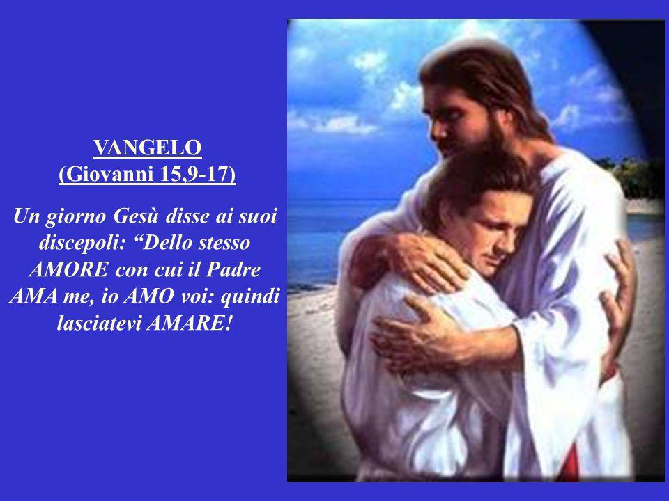Lui infatti ci ha AMATI così tanto, che ci ha mandato sulla terra il Suo unico Figlio: a morire per noi. Questo è il Suo modo di AMARE! Non siamo stat