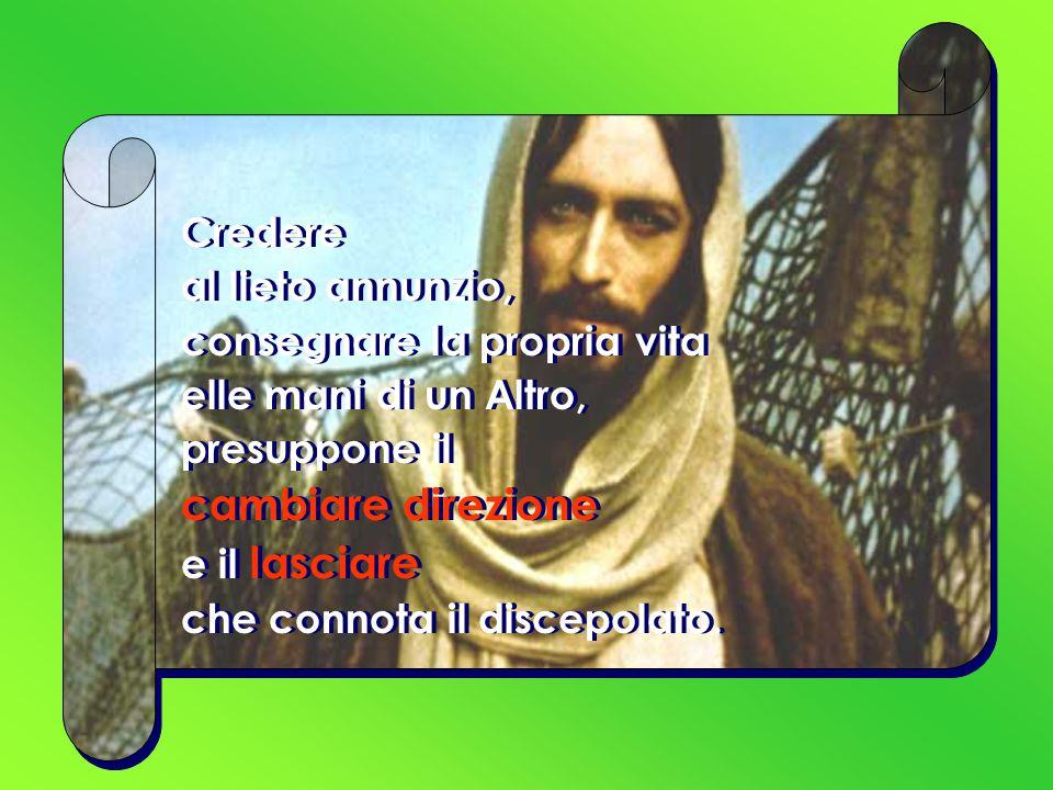 * v.15b il tempo è compiuto e (perché) il regno di Dio è vicino .