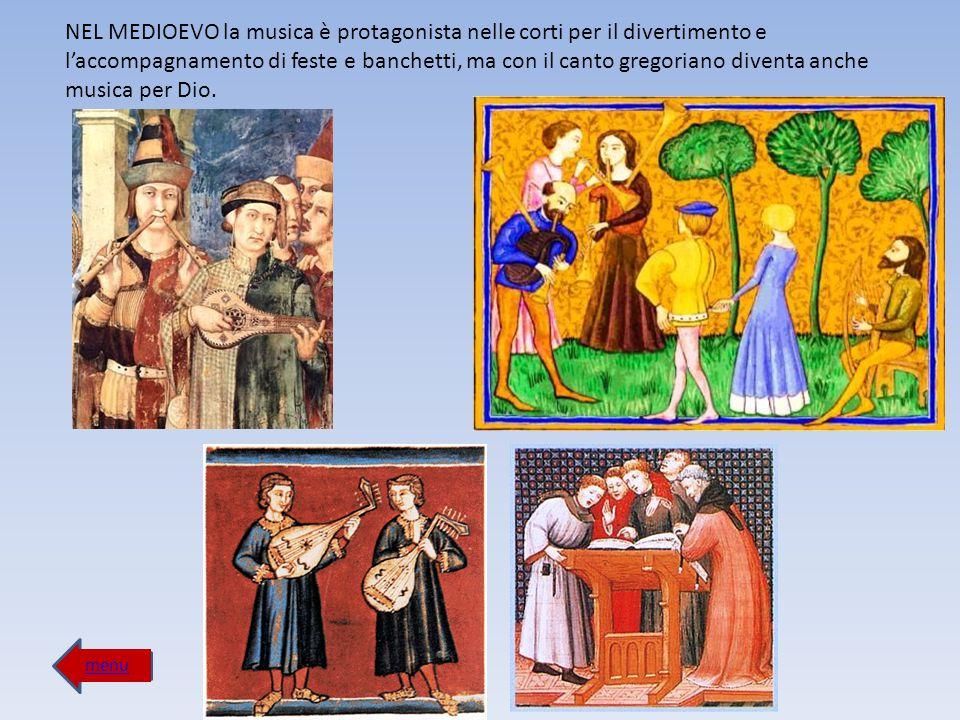 menu La musica entra nel '600 nei quadri dei grandi pittori come Caravaggio.