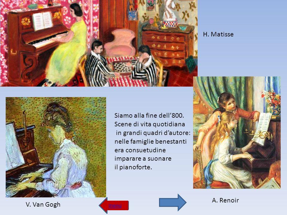 menu Le chitarre di Pablo Picasso