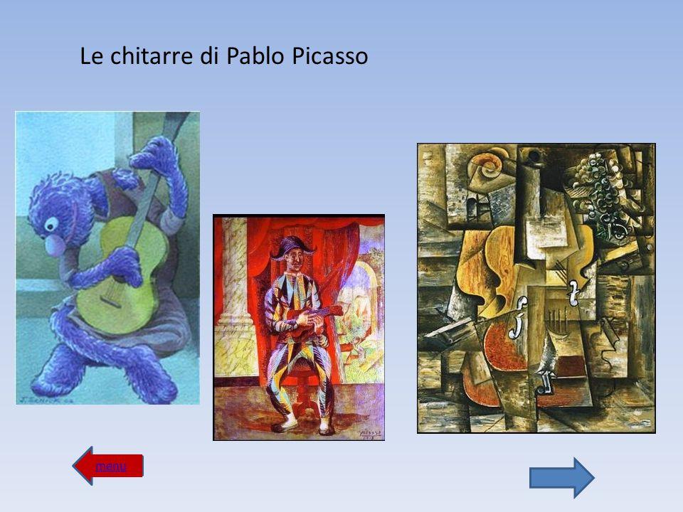 menu I violinisti di Marc Chagall