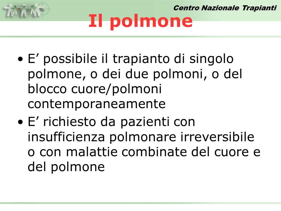 Centro Nazionale Trapianti Totale Trapianti – Anni 1992/2008 Inclusi i trapianti combinati FONTE DATI: Dati Reports CIR
