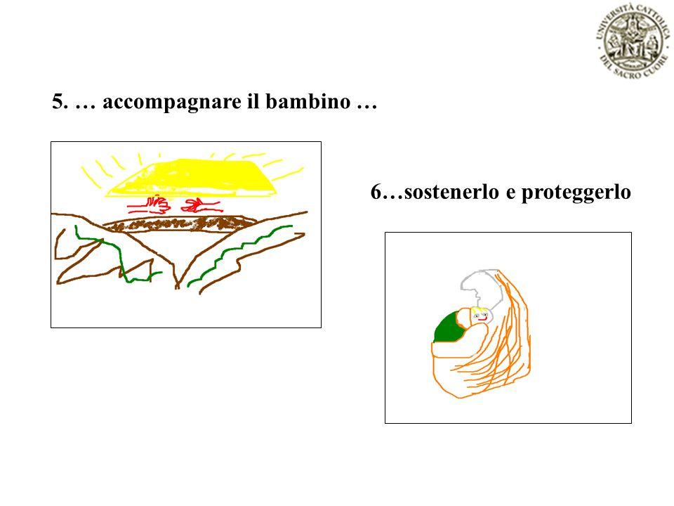 5. … accompagnare il bambino … 6…sostenerlo e proteggerlo