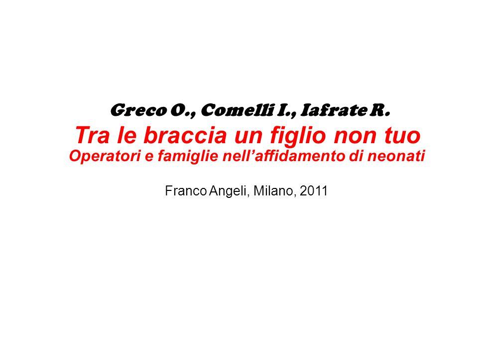 Greco O., Comelli I., Iafrate R.