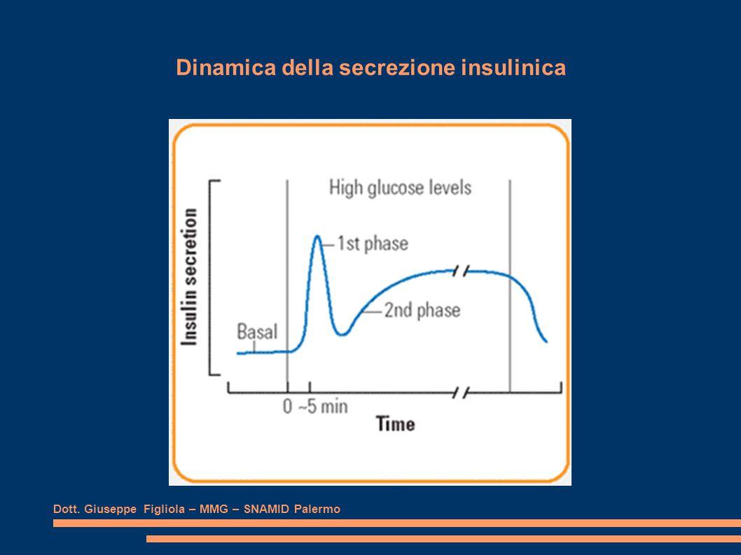 Dinamica della secrezione insulinica Dott. Giuseppe Figliola – MMG – SNAMID Palermo