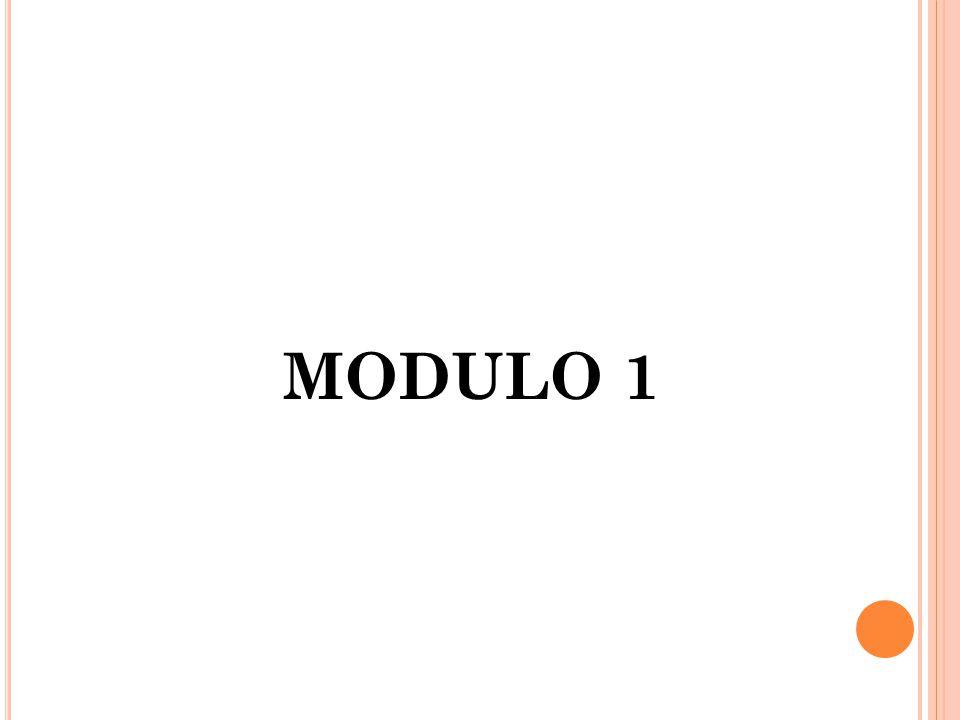 MODULO 1