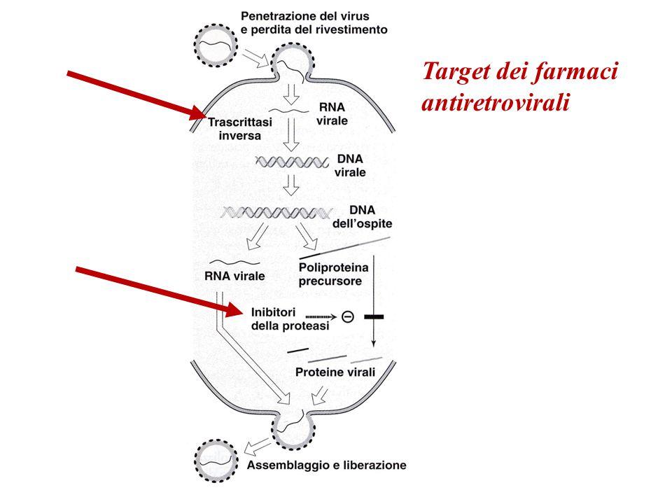 Target dei farmaci antiretrovirali