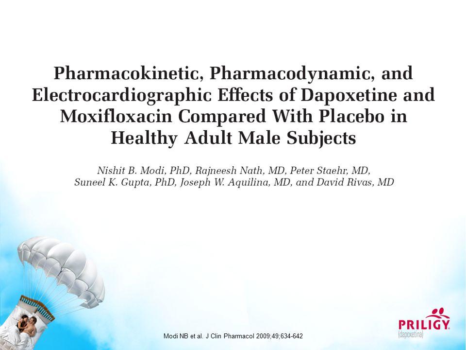 Modi NB et al. J Clin Pharmacol 2009;49;634-642