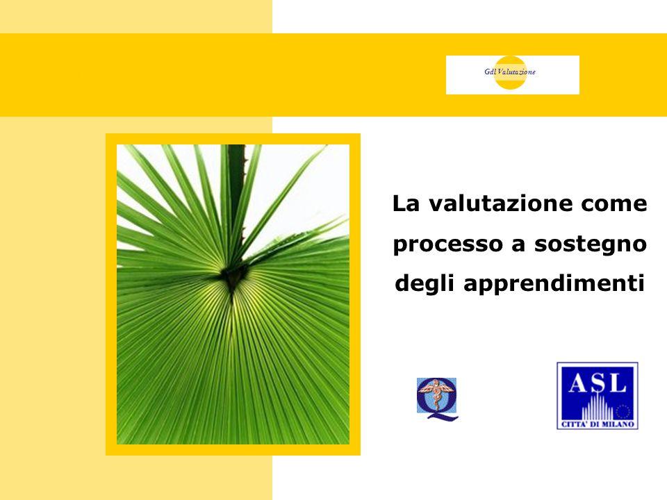 Copertina Gdl Valutazione La valutazione come processo a sostegno degli apprendimenti