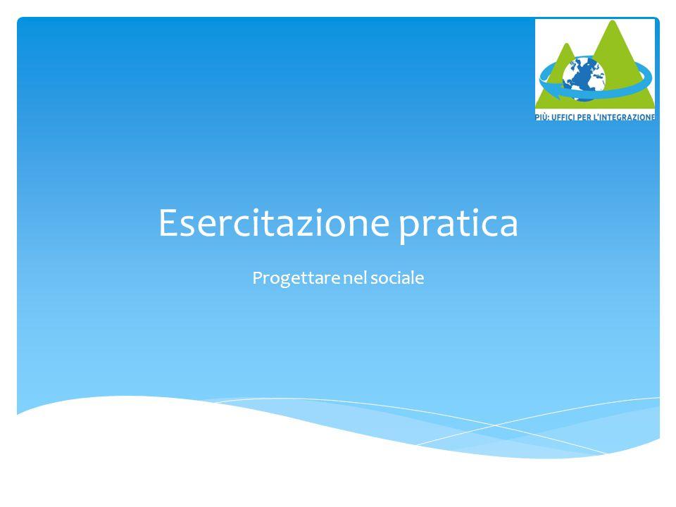 1.2 Ambito territoriale del progetto  (Indicare i luoghi di realizzazione delle attività) Dove????.