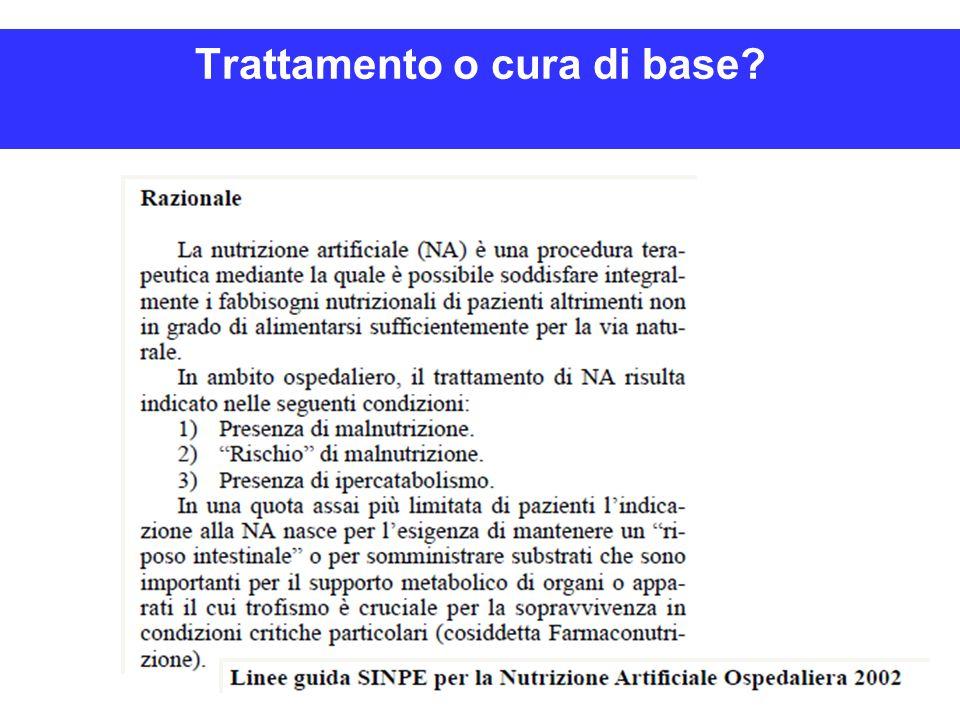 Trattamento o cura di base?