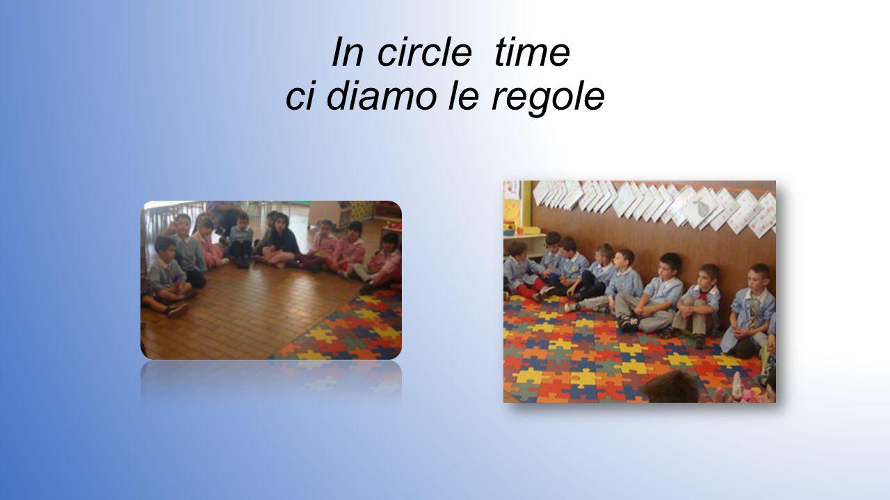 In circle time ci diamo le regole