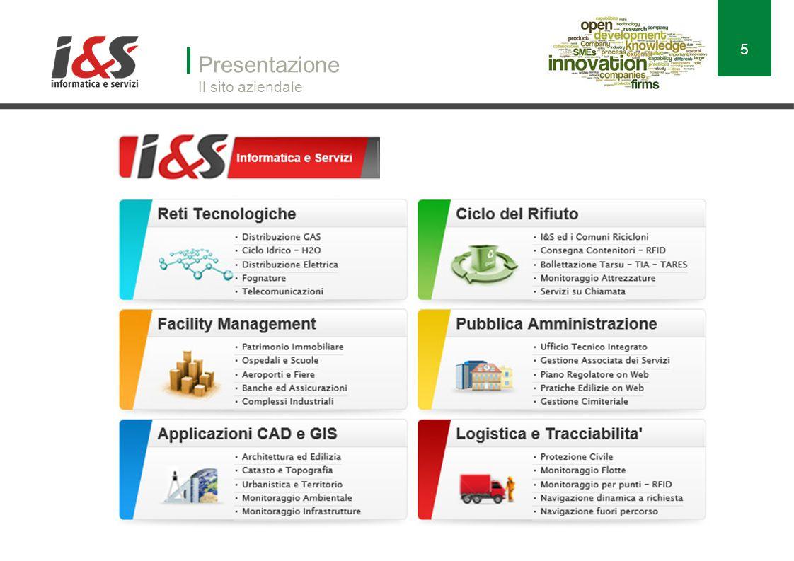 Presentazione Il sito aziendale 5 http://www.ies.it