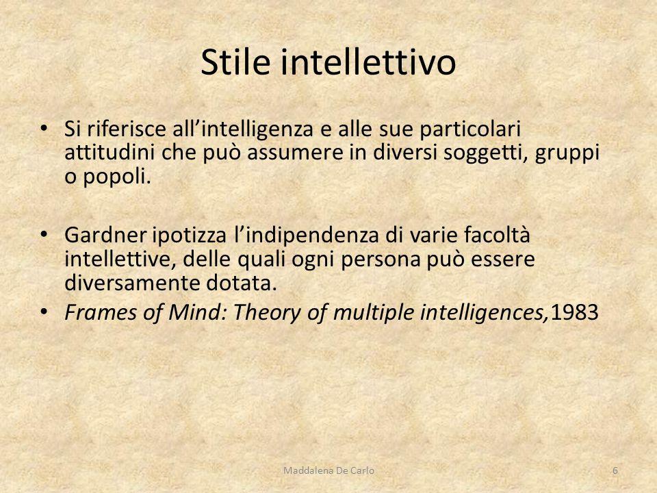 Si riferisce all'intelligenza e alle sue particolari attitudini che può assumere in diversi soggetti, gruppi o popoli.