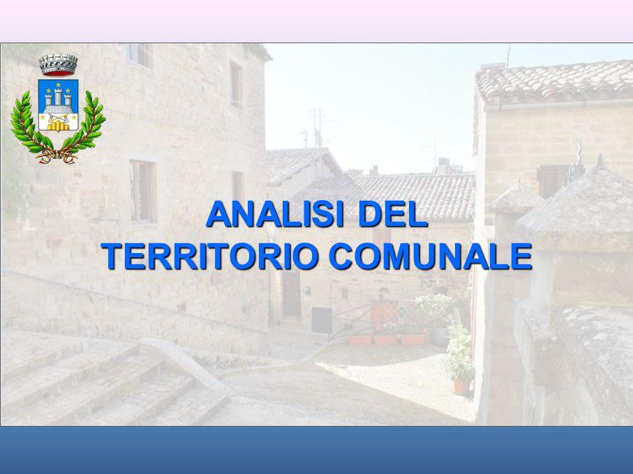 ANALISI DEL TERRITORIO COMUNALE