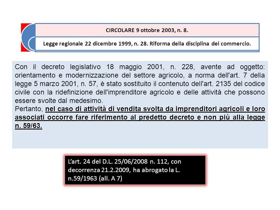 Con il decreto legislativo 18 maggio 2001, n.