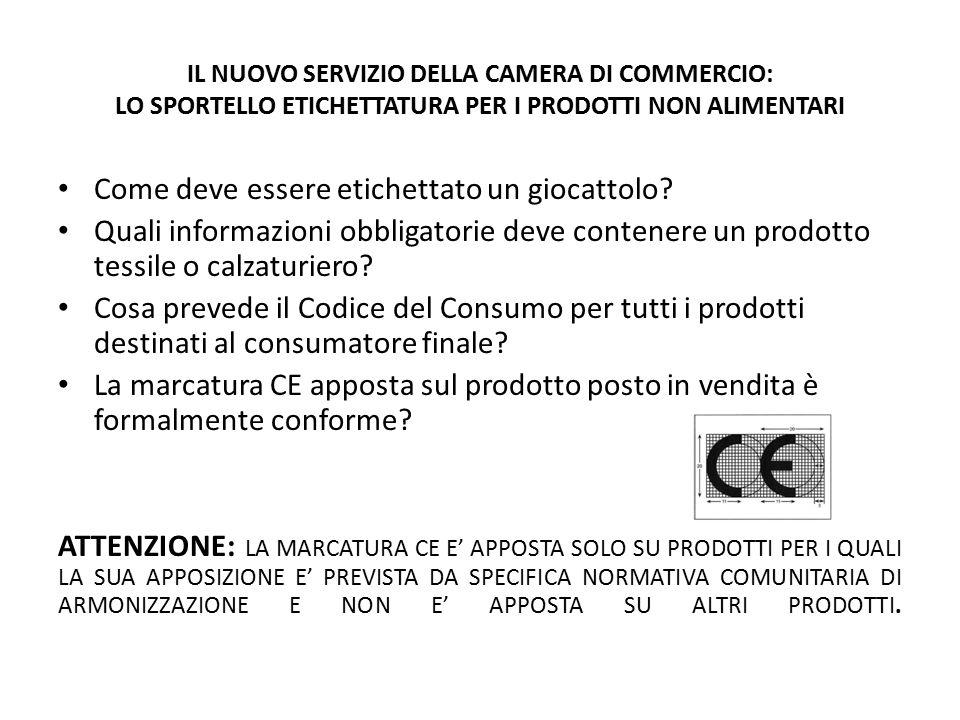 CHI APPONE L'ETICHETTA All'immissione del prodotto sul mercato, il fabbricante garantisce la fornitura dell'etichetta o del contrassegno e l'esattezza delle informazioni ivi contenute.