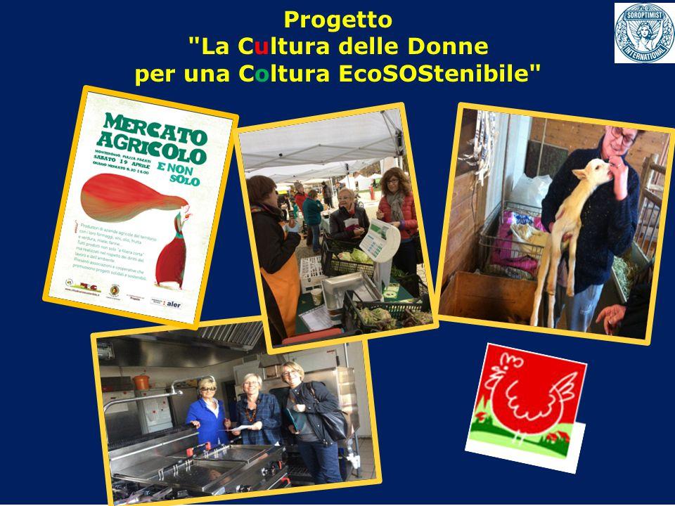 Progetto La Cultura delle Donne per una Coltura EcoSOStenibile