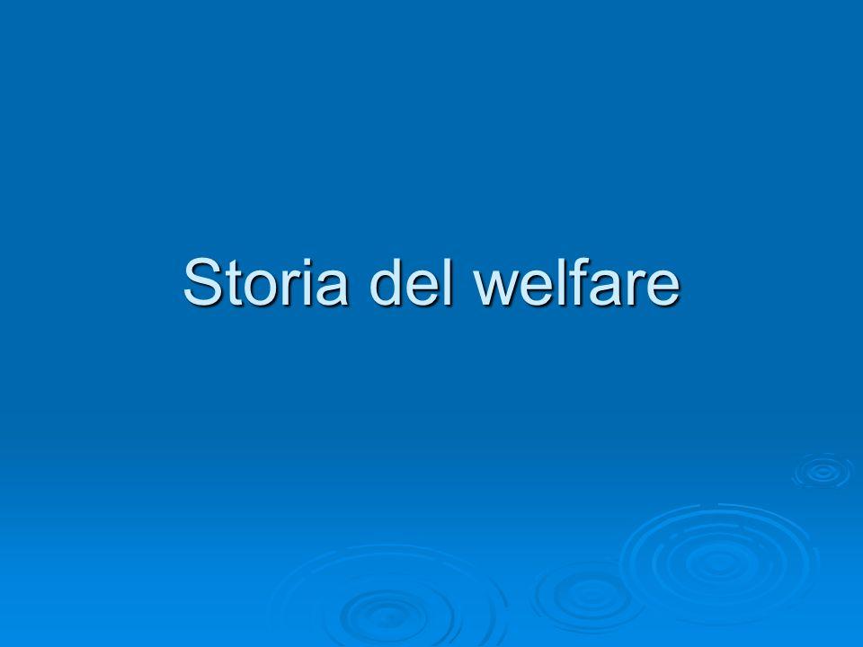 Storia del welfare