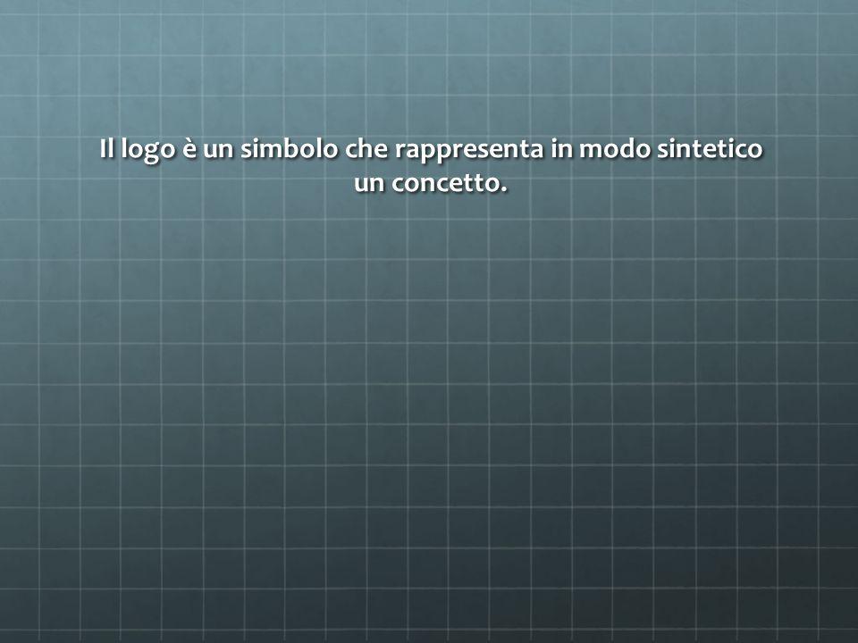 Il logo è un simbolo che rappresenta in modo sintetico un concetto.