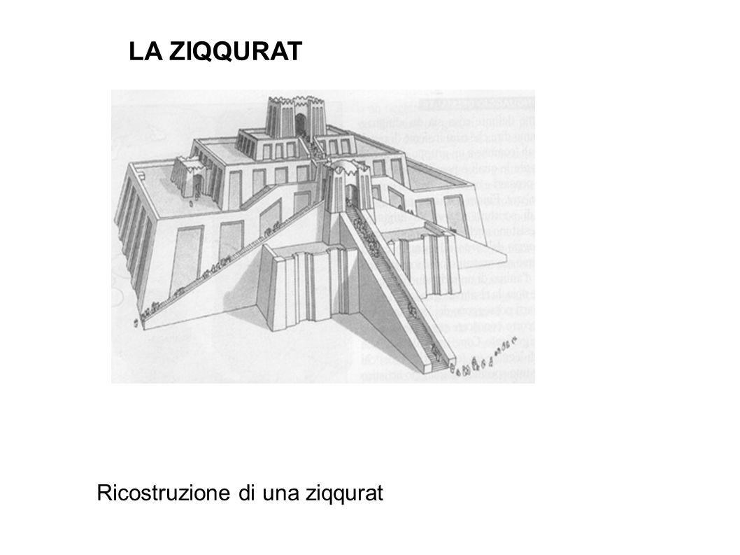 Ricostruzione di una ziqqurat LA ZIQQURAT
