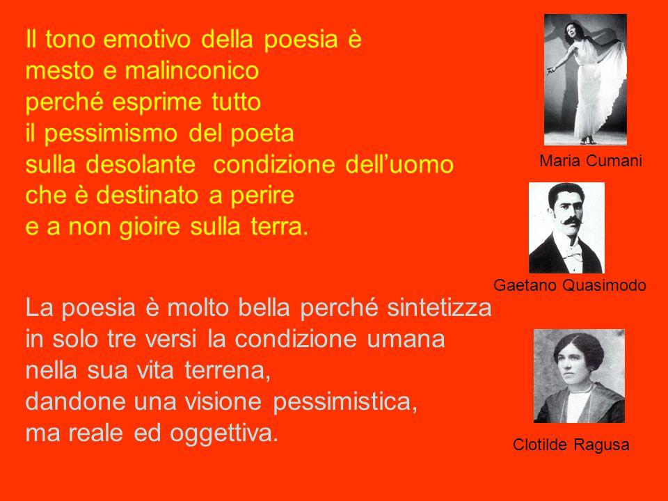 e Il grande poeta Salvatore Quasimodo premio Nobel per la letteratura nel 1959 e il suo grande ammiratore Biagio Carrubba vi salutano con un grande abbraccio e vi ricordano la grande importanza della poesia nella vita di tutti i giorni.