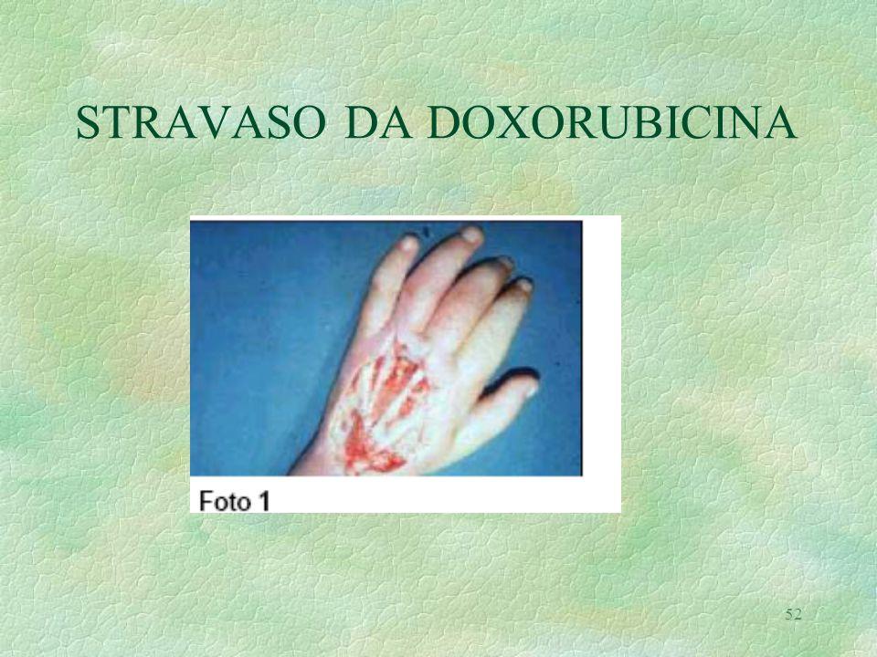 52 STRAVASO DA DOXORUBICINA