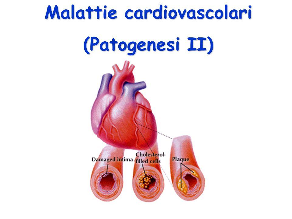 Malattie cardiovascolari (Patogenesi II)