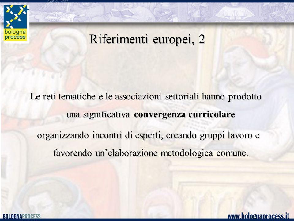 Riferimenti europei, 3 Il risultato di questa azione comune è la produzione di documenti condivisi che costituiscono i punti di riferimento europei per tutte le istituzioni artistiche e musicali per tutte le istituzioni artistiche e musicali