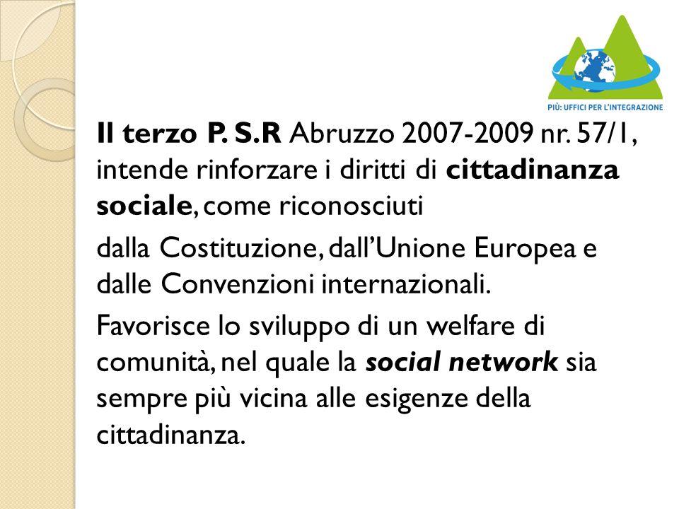 Il terzo P. S.R Abruzzo 2007-2009 nr.