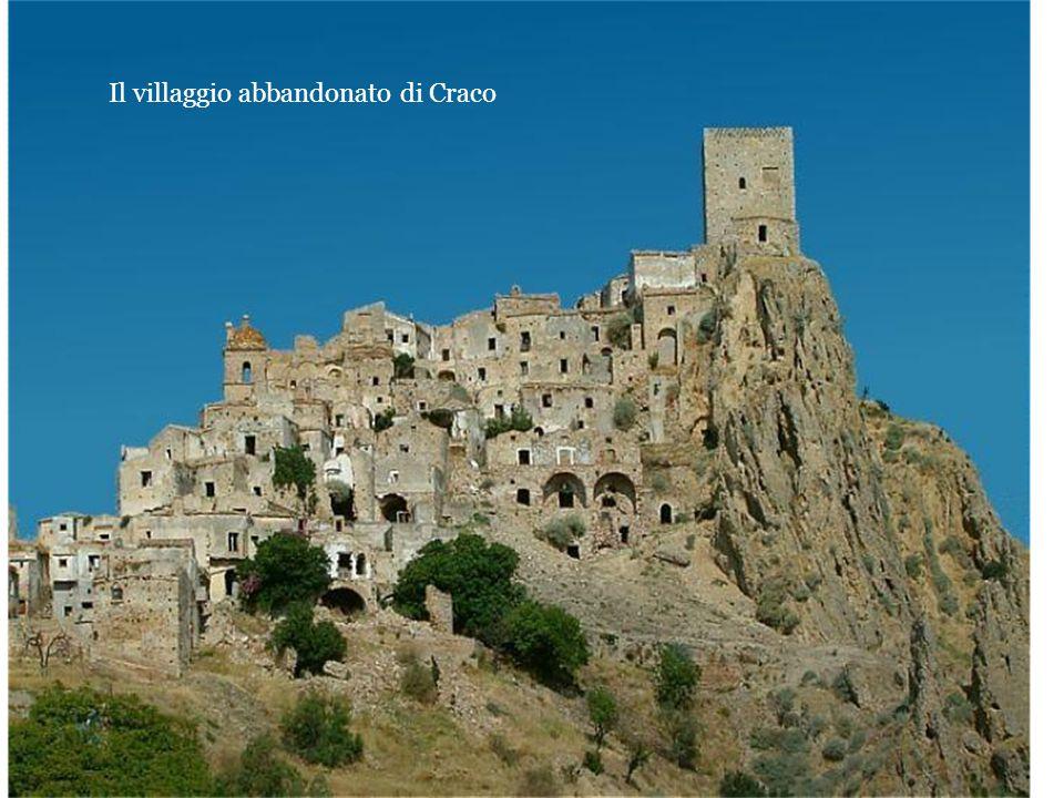 Il villaggio abbandonato di Craco