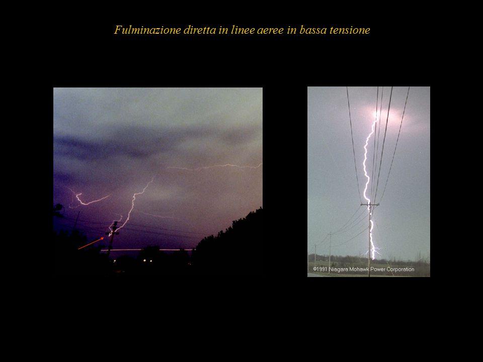 12 Fulminazione diretta in linee aeree in bassa tensione