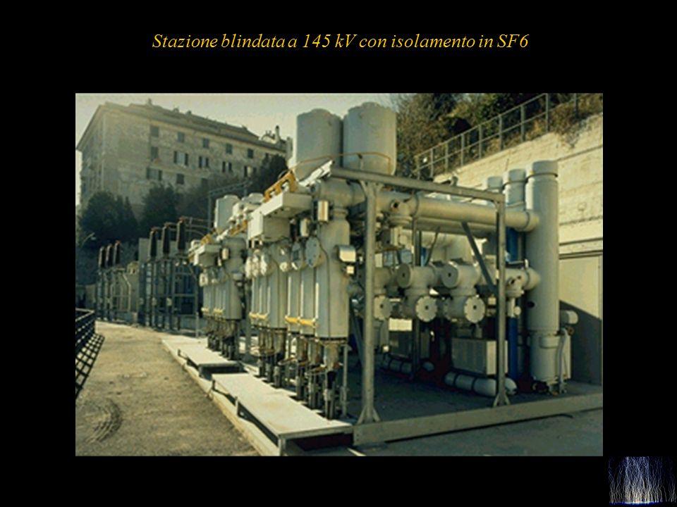 33 Stazione blindata a 145 kV con isolamento in SF6