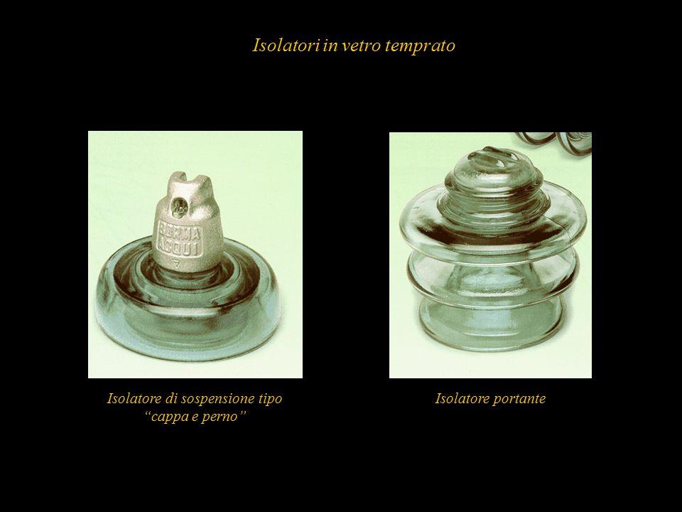 """59 Isolatori in vetro temprato Isolatore di sospensione tipo """"cappa e perno"""" Isolatore portante"""