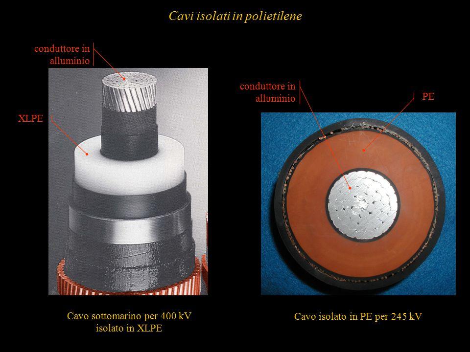 67 Cavo sottomarino per 400 kV isolato in XLPE Cavo isolato in PE per 245 kV PE XLPE conduttore in alluminio Cavi isolati in polietilene