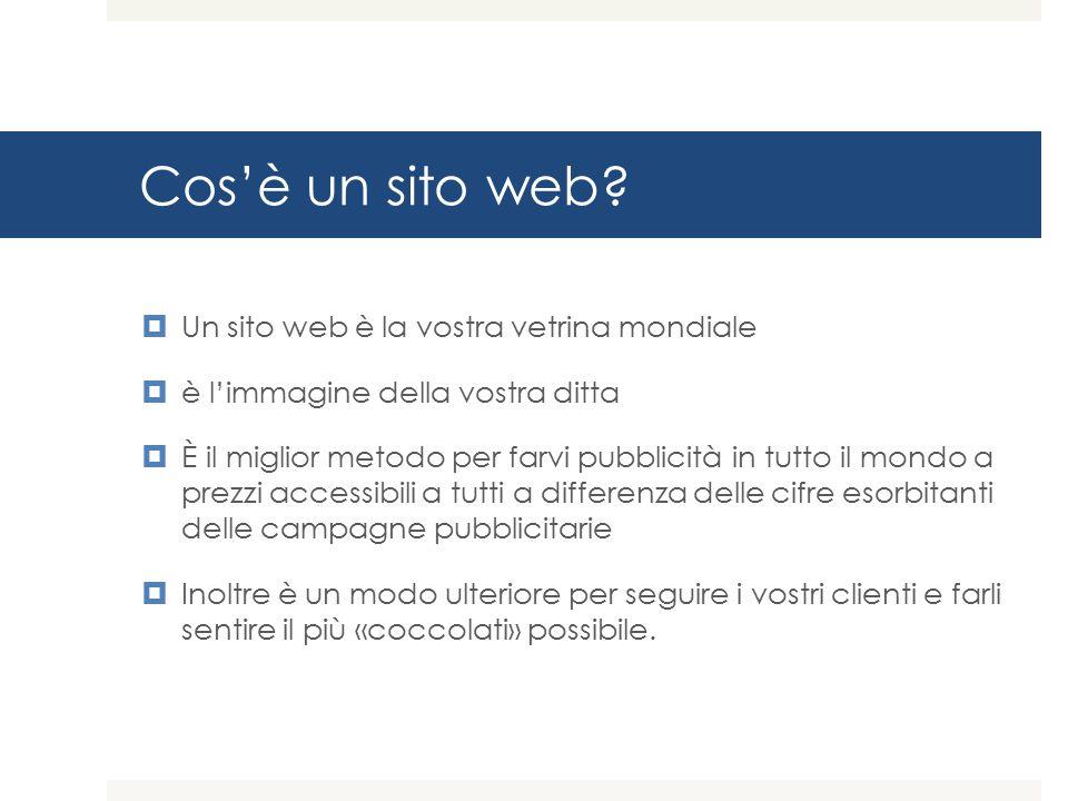Cos'è un sito web.