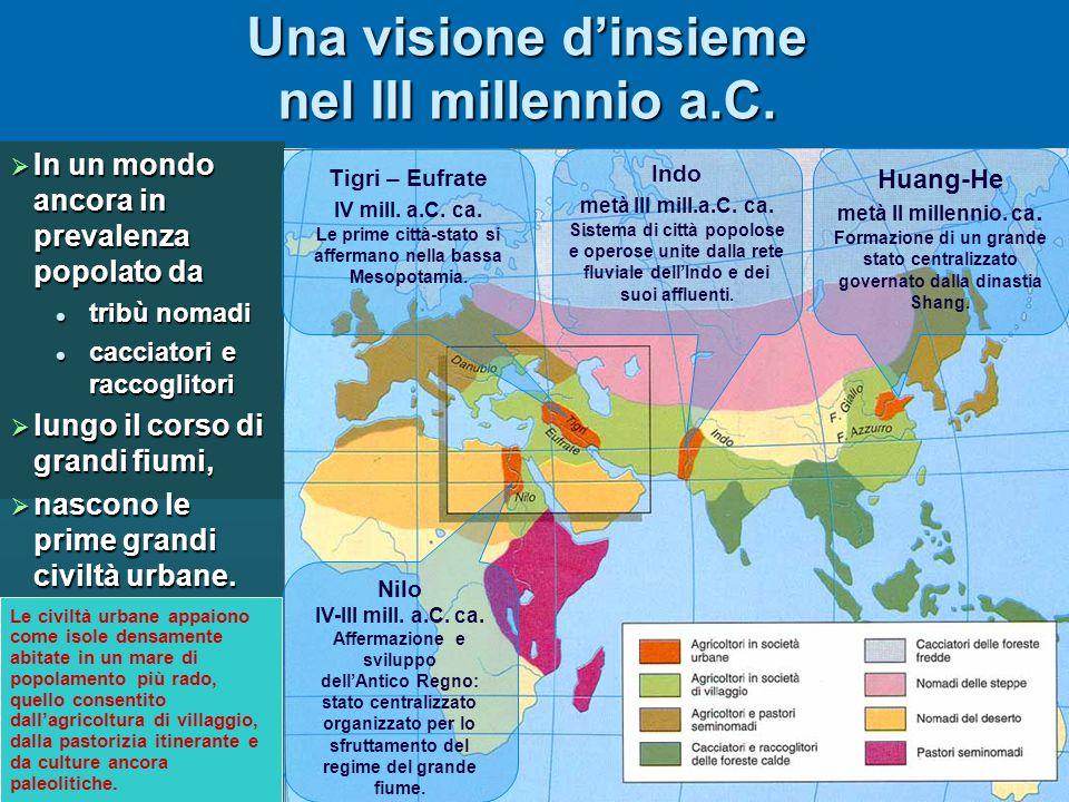 Una visione d'insieme nel III millennio a.C.